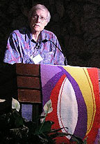 Walter Wink lecturing